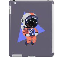 Cute Astronaut Character (Orange) iPad Case/Skin
