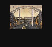'View of Mt. Fuji' by Katsushika Hokusai (Reproduction) Unisex T-Shirt