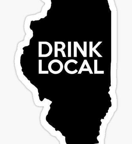 Illinois Drink Local IL  Sticker