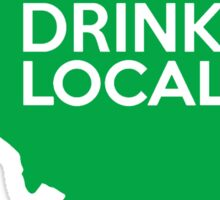 Illinois Drink Local IL Green Sticker