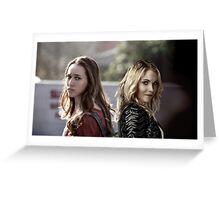 Elyza Lex & Alicia Clark Greeting Card