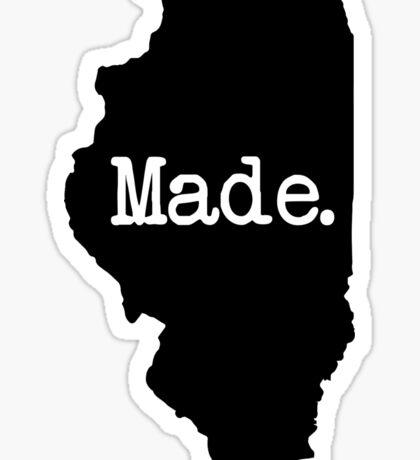 Illinois Made IL Sticker