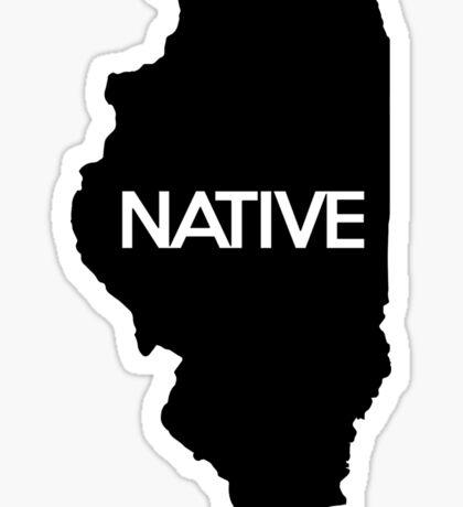 Illinois Native IL Sticker