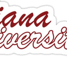 Indiana University Sticker Sticker