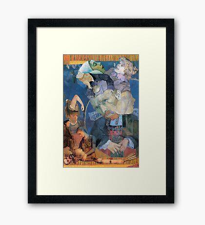 Impressed Vincent. Framed Print