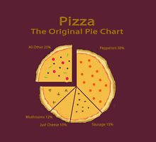 Pizza Pie Chart Unisex T-Shirt