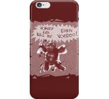 cartoon style voodoo baby  iPhone Case/Skin
