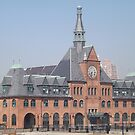 Classic Architecture, Central Railroad of New Jersey Terminal, Built 1889, Liberty State Park, New Jersey by lenspiro