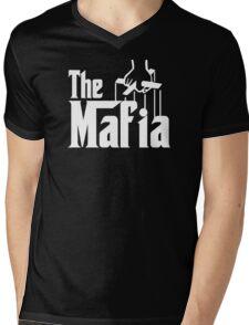 The Mafia Mens V-Neck T-Shirt