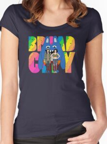 Broad City Abbi Ilana and Bingo Bronson Women's Fitted Scoop T-Shirt