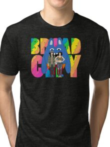 Broad City Abbi Ilana and Bingo Bronson Tri-blend T-Shirt
