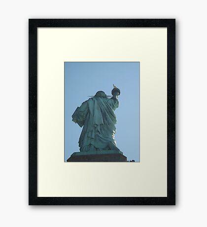 Statue of Liberty, Liberty island Framed Print