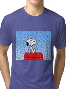 Snoopy fun Tri-blend T-Shirt