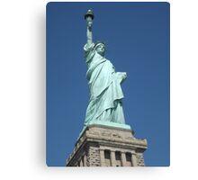 Statue of Liberty, Liberty Island Canvas Print