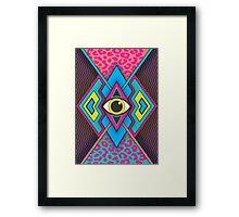 Tribal Eye Framed Print