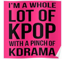 A LOT OF KPOP - PINK Poster
