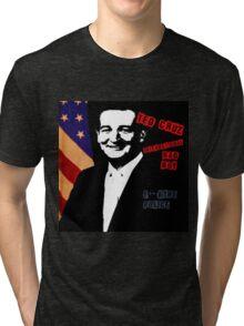 Ted Cruz - International Badboy Tri-blend T-Shirt