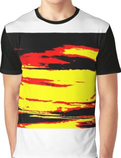 Psychedelic Sunset Photo Graphic T-Shirt