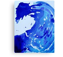 Save The Water Watercolour Canvas Print