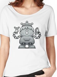 Porky Statue - Battle Pose Women's Relaxed Fit T-Shirt