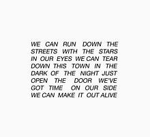 Unpredictable Lyrics Unisex T-Shirt