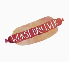 Wurst Day Ever Kids Tee