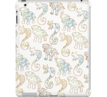 Colored inside the lines iPad Case/Skin