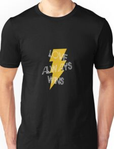 "Harry Potter ""Love Always Wins"" Unisex T-Shirt"