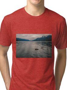 Lake Crescent, Olympic National Park, Washington Tri-blend T-Shirt
