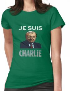 Je Suis Charlie Haughey Womens Fitted T-Shirt