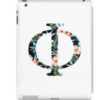 Phi Floral Greek Letter iPad Case/Skin