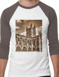 Roman Bath Men's Baseball ¾ T-Shirt