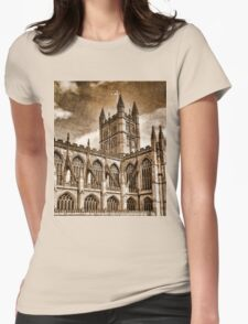 Roman Bath Womens Fitted T-Shirt