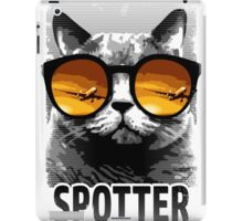 Plane Spotting Cat iPad Case/Skin