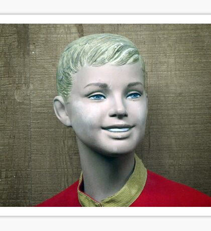 Creepy Mannequin Sticker