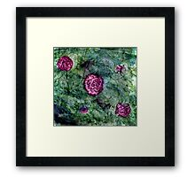 Water Color Flowers Framed Print