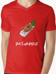 Painapple Mens V-Neck T-Shirt