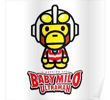 Ultraman Baby Milo Poster