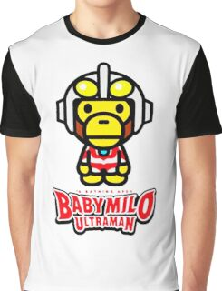 Ultraman Baby Milo Graphic T-Shirt