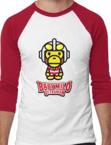 Ultraman Baby Milo Men's Baseball ¾ T-Shirt
