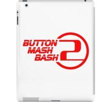 Button Mash Bash 2 Logo - Red iPad Case/Skin