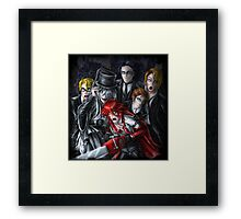 Haunted House Reapers Framed Print