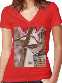 Mockingbird Women's Fitted V-Neck T-Shirt