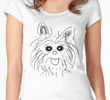 The Yorkie Women's Fitted Scoop T-Shirt