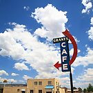 Route 66 - Grants Cafe Neon by Frank Romeo