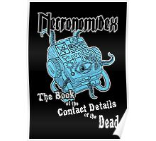 Necronomidex - The Book of the Contact Details of the Dead - T-shirts etc. Poster
