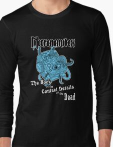 Necronomidex - The Book of the Contact Details of the Dead - T-shirts etc. Long Sleeve T-Shirt
