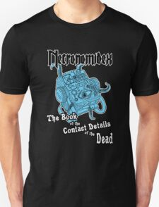 Necronomidex - The Book of the Contact Details of the Dead - T-shirts etc. T-Shirt