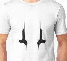 Corsair Flag - Black Unisex T-Shirt