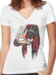 Vertigo Finn Demon Women's Fitted V-Neck T-Shirt